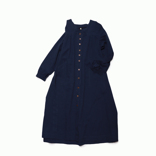 Dublin French Onepiece(Navy)