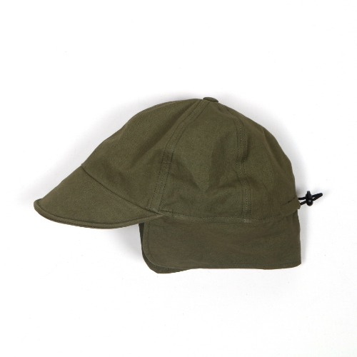 Forest Ear Flap Cap(Olive)
