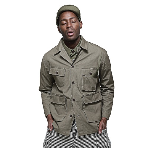 Forest Pocket Jacket(Olive)